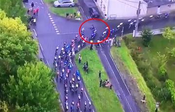 París Tours: Fernando Gaviria y la caída que le impidió repetir título