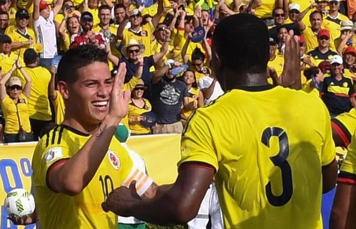 Selección Colombia es papá de Perú en Lima