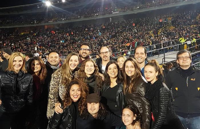 así fue como los famosos vivieron el concierto de U2. Foto: Instagram