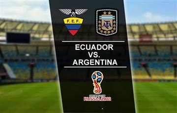 Ecuador vs. Argentina: Hora y transmisión EN VIVO