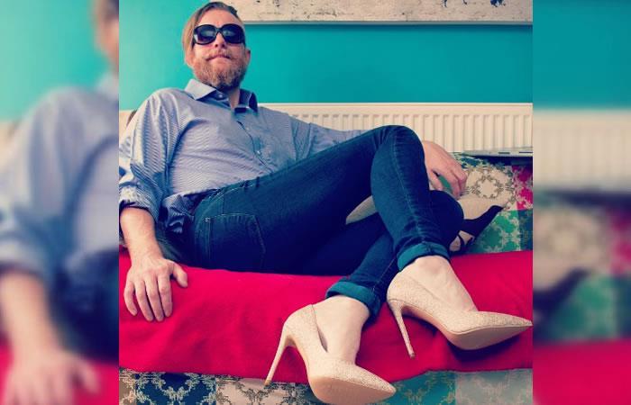 Instagram: Modelo defiende el uso de tacones para los hombres