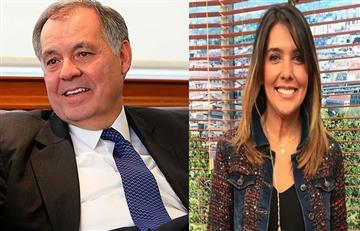 La pelea de Alejandro Ordóñez con la presentadora Mónica Rodríguez