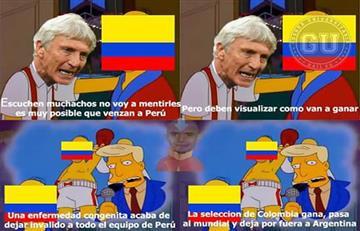 Perú vs. Colombia: Los memes ya hacen de la suyas