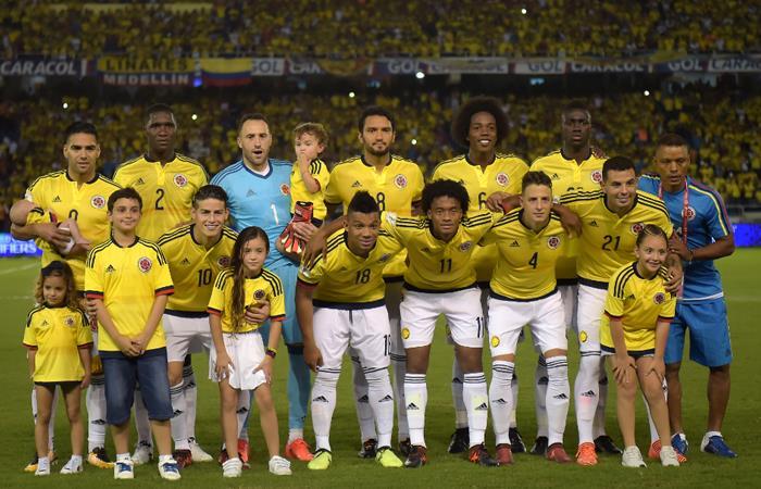 Selección Colombia ganarámillonaria suma de dinero sipasaal Mundial