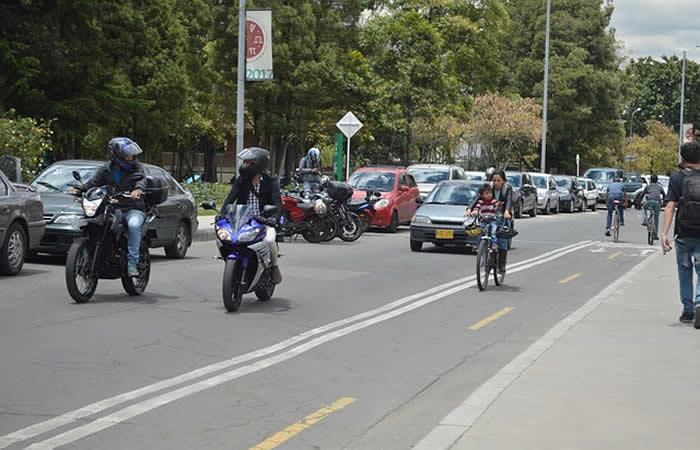 Bogotá no tendrá pico y placa para motos
