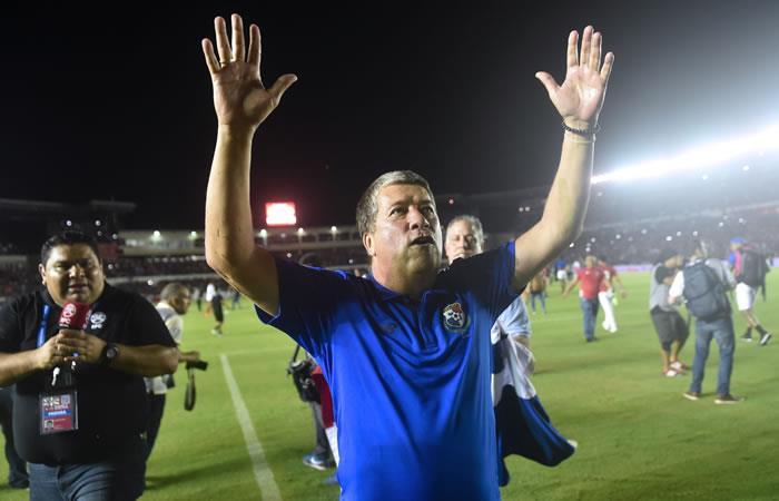 'Bolillo' Gómez clasifica a Panamá por primera vez a un Mundial