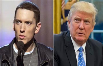 Donald Trump es acusado de 'racista' por el rapero Eminen