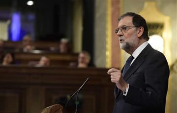 Mariano Rajoy dio plazo a Puigdemont para que confirme la independencia