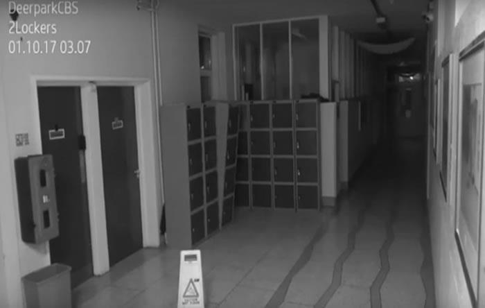 Irlanda: Inquietante video de un fantasma aterroriza en un colegio