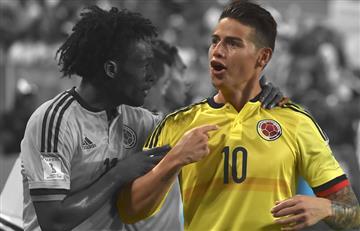 """James Rodríguez: """"Estamos en el Mundial hp"""""""
