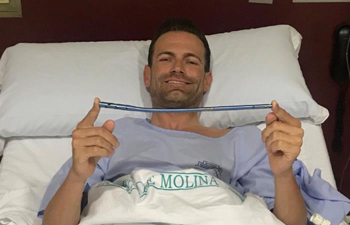 José Joaquín Rojas: Extraen satisfactoriamente el clavo de su pierna