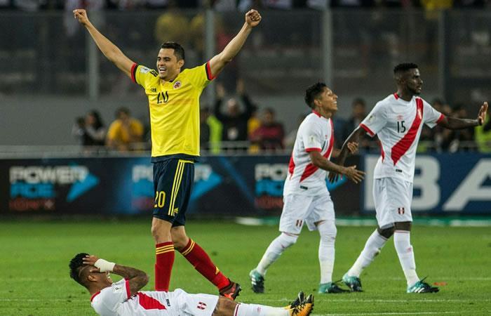 Colombia clasificó al Mundial de Rusia 2018. Foto: AFP