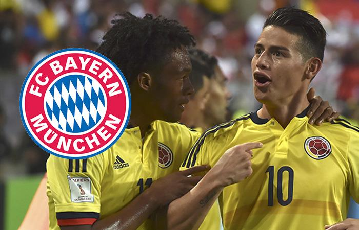 Selección Colombia: Hasta el Bayern Múnich se une a la celebración