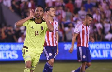 Venezuela sorprende y derrota a Paraguay