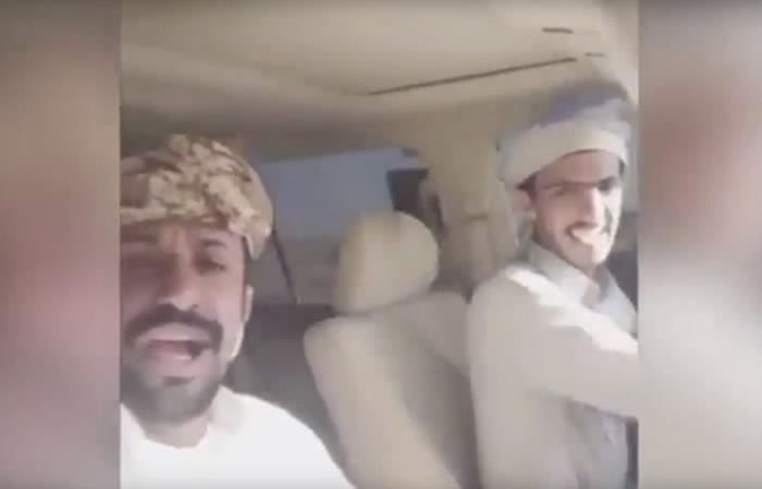 En Arabia dos hombres transmitieron su trágica muerte en vivo