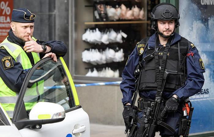 Tiroteo en Suecia deja al menos siete heridos