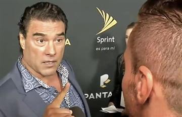 Video: Agresión de Eduardo Yañez a un periodista en Los Ángeles