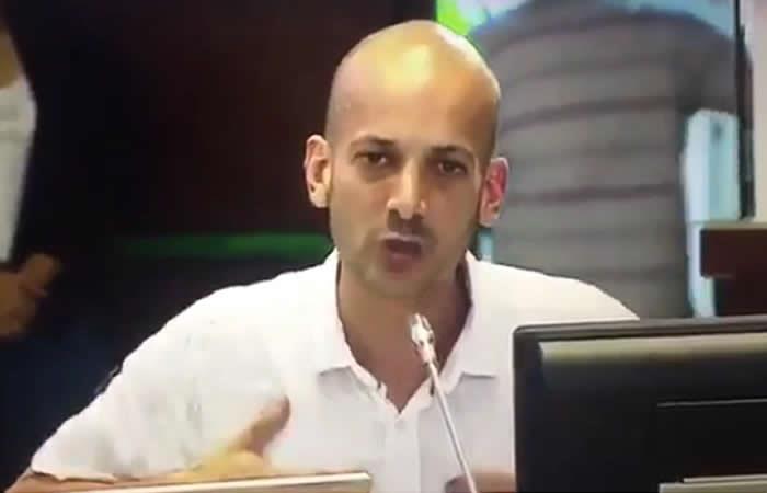 Video: Concejal del Centro Democrático ataca a Uribe