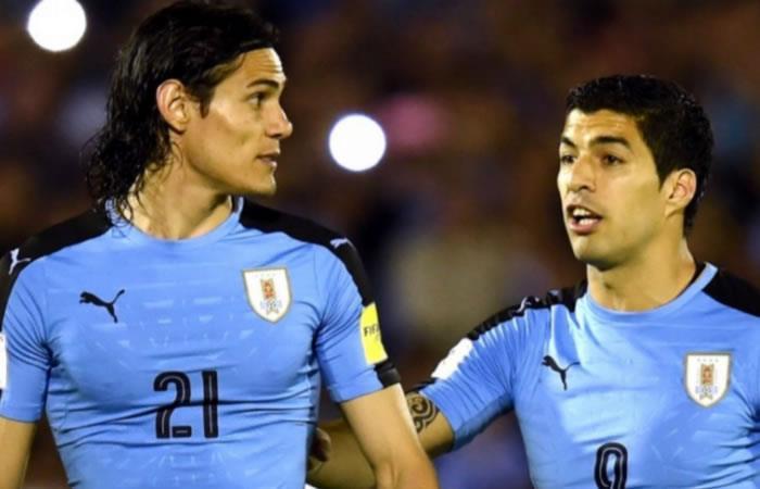 Edinson Cavani también discutió con Luis Suárez