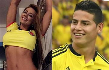 Esperanza Gómez felicitó a la selección Colombia con atrevido tuit