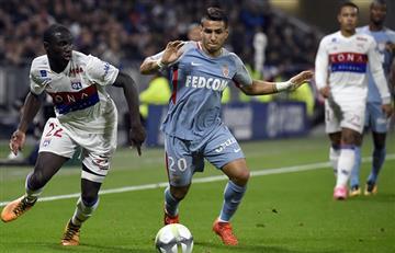 Falcao no jugó y el Mónaco perdió ante el Lyon