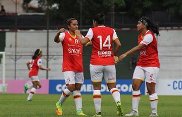 Libertadores Femenina: Espectacular debut de Santa Fe con un 9-2 sobre Ita