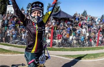 Mariana Pajón presente en la Copa Latinoamericana del BMX de Perú