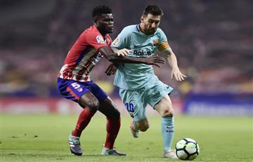Barcelona conserva la imbatibilidad y empata con el Atlético de Madrid