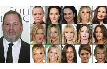 Harvey Weinstein: Así manipulaba a actrices de Hollywood para abusar de ellas