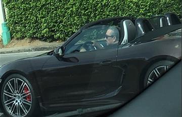 Hugo Aguilar volvería a la cárcel tras presumir su lujoso Porsche
