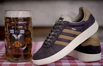 Las zapatillas de Adidas repelentes al vómito y a la cerveza