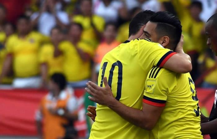 James Rodríguez espera que Falcao sea el goleador del Mundial