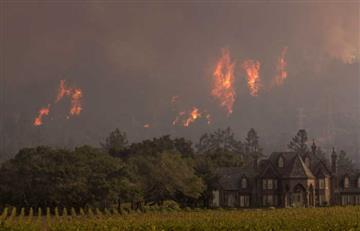 Incendios forestales en California dejan 38 muertos y 100 mil evacuados