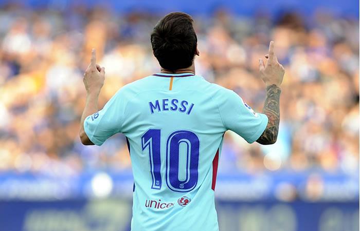 Messi se mantiene como goleador de la Liga Española