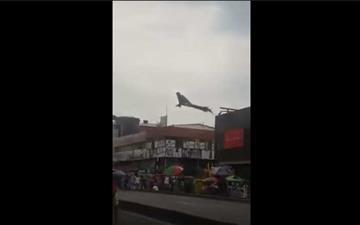 """Video de una """"bruja"""" volando en el centro de Cali causó pavor"""