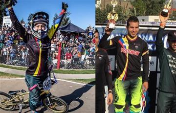 Mariana Pajón y Carlos Ramírez se imponen en la Copa Latinoamericana de BMX