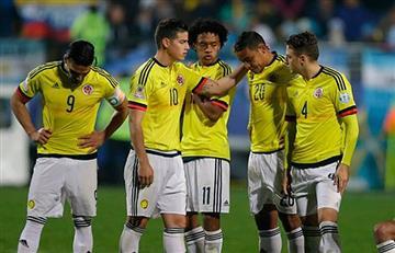 Selección Colombia sale del Top 10 del ranking FIFA