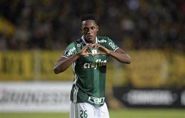 Yerry Mina: Excelentes noticias sobre el central de la selección Colombia