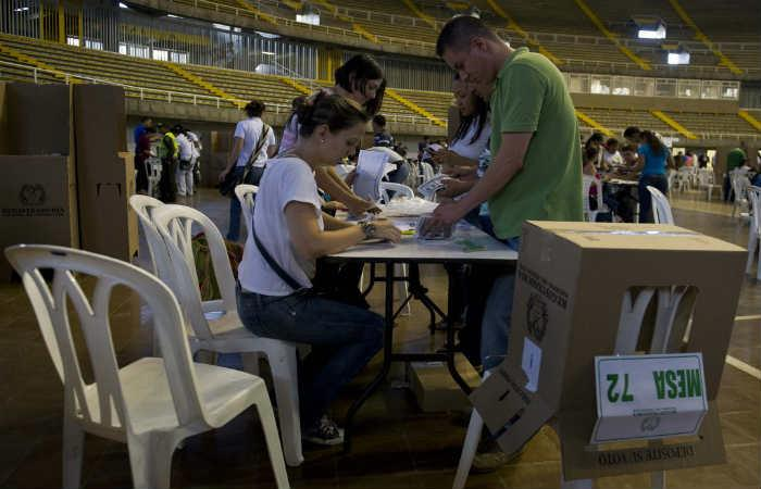 Inscripciones de cédulas para elecciones 2018