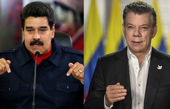 Maduro: Si me inscribo como candidato en Colombia, le gano a Santos