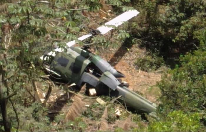 Antioquia: Accidente de helicóptero en Copacabana deja diez heridos