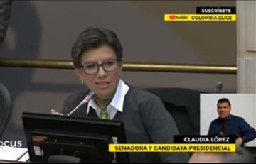 Encendida respuesta de Álvaro Uribe a Claudia López