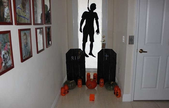 Halloween Espeluznantes ideas para decorar la casa con poco dinero