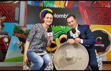 'La voz del Mariachi' llegó a Colombia con su tema 'A los 4 vientos'
