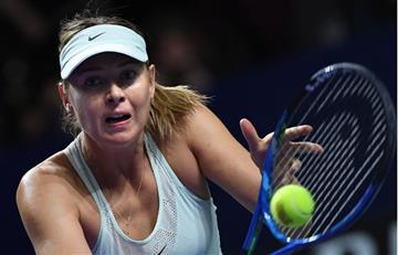 Sharapova derrotada en la primera ronda del Torneo de Moscú