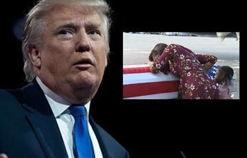 """Trump a viuda de soldado muerto en ataque: """"Él sabía a lo que se exponía"""""""