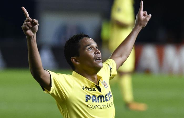 Carlos Bacca vuelve a marcar con el Villareal