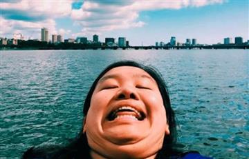 Instagram: Joven muestra sin temor su papada por el mundo