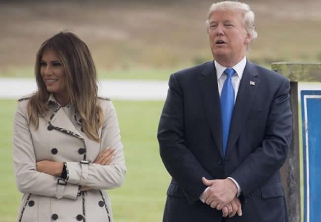 Melania Trump y el misterio detrás de la supuesta doble