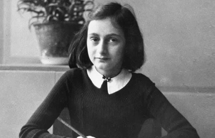 Disfraz de Ana Frank es
